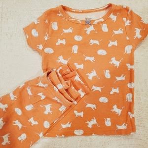 4for$20!! Carter's 2pc pajamas size 3T